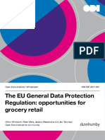 EU GDPR opportunities for grocery retail