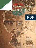 Actas de Las IX Jornadas de Jóvenes en Investigación Arqueológica.