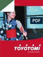 Catalogo RESIDENZIALE Toyotomi 2008 Apr