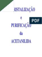 9 - Recristalização Da Acetanilida LICV2