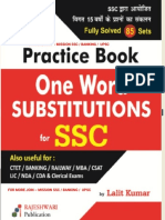 One-word-substitution