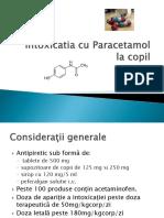 Intoxicatia Cu Paracetamol