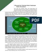 Lingkungan Ekonomi Dan Teknologi Dalam Lingkungan Makro Perusahaan