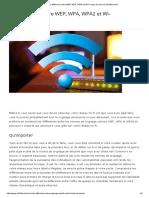 La Différence Entre WEP, WPA, WPA2 Et Wi-Fi Mots de Passe _ Info24android