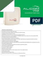 Ficha Tecnica Alcom Voz 255 - 2016