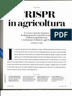 CRISPR in Agricoltura