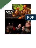 Programa de Fiestas de Quito 2017 Agenda de Eventos Sinmiedosec.com