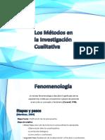 Los Métodos en La Investigación Cualitativa