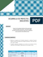PLAN_Desarrollo de Proyectos Educativos