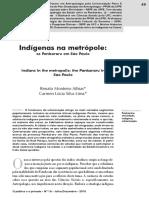 Indígenas Na Metrópole