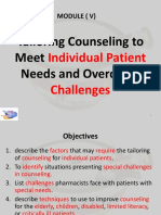 PR10 Counseling Individual Pts