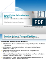 Optimize Carbon Capture With Rate-based Distillation
