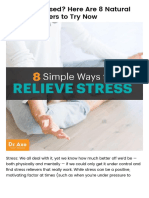 Always Stressed_ 8 Natural Stress Relievers to Try - Dr. Axe