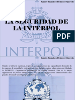 Ramiro Francisco Helmeyer Quevedo - La Seguridad de La Interpol