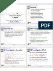 Empirical Investigation Notes