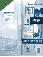 Succeed in Cambridge Pet Self Study Guide