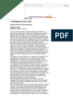 Robert Kurz - A Biologização Do Social - 7-7-1996