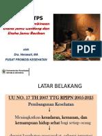 PHBS CTPS Dalam Upaya Pembinaan Jamu