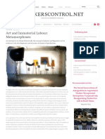 Art and Immaterial Labour