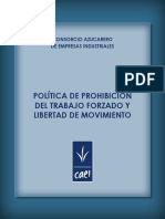 Politica Prohibicion Trabajo Forzado