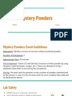 mystery powders  1