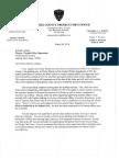 Prosecutor's Letter to Director Lebrato March 26