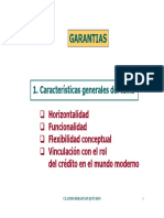 DERECHO CIVIL X (GARANTÍAS) -CLASES - GARANTIAS