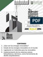 Didier Chinchilla Preserntacion Sica 2016
