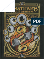 D&D 5th 05 Xanathar's Guide to Everything