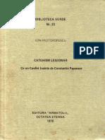Ion Protopopescu - Catehism legionar - colectia Biblioteca Verde 1976