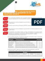 Instructivo Para Ficha de Evaluacion