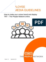 TNT Social Media Guidelines