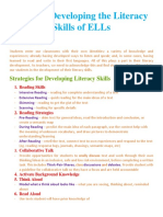 module 4 - tips for development of literacy