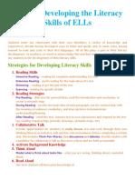 module 4 - tips for development of literacy