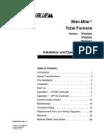 TF55030A Furnace Manual