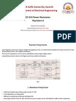 EE313 PE Thyristors II
