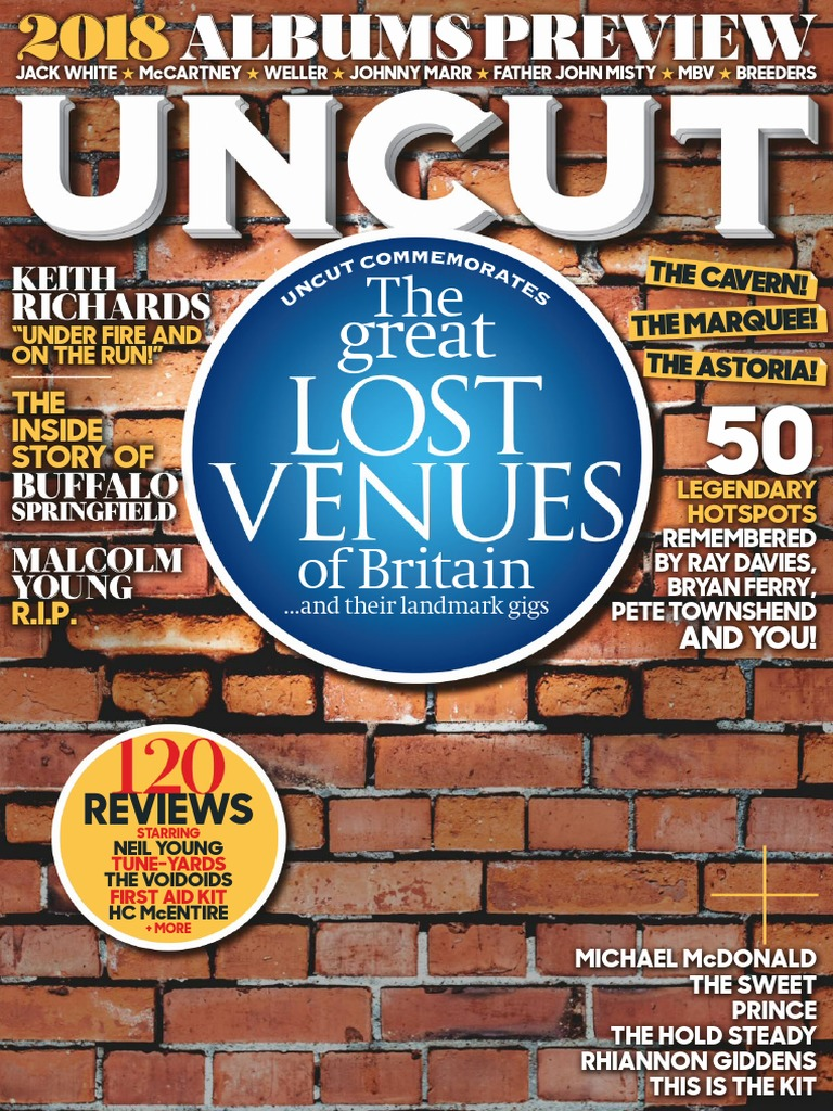 55a7faaeded Uncut UK February 2018