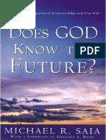 Does God Know the Future - Michael R. Saia