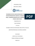 IMPLEMENTACION DE LA TUTORIA VIRTUAL COMO METODO DE RECUPERACIÓN DE CLASES DE DIBUJO LINEAL Y GEOMETRIA DESCRIPTIVA