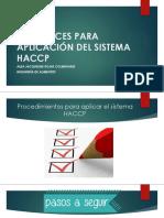 DIRECTRICES PARA APLICACIÓN DEL SISTEMA HACCP.pptx