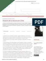 Historia de La Lectura en Chile - Memoria Chilena, Biblioteca Nacional de Chile