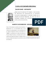Pioneros de La Economía Regional