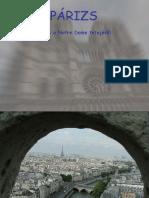 Paris Notre Dame Kilátás
