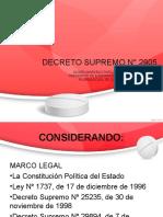 DECRETO SUPREMO N 2905.ppt
