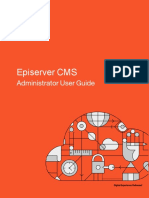 Episerver Cms Administrator User Guide