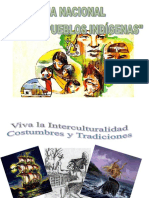 afiche interculturalidad