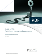 Guide to Us Aml Requirements 6thedition Protiviti 0