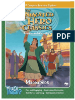 Bible Maccabees Activity Book