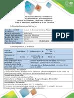 Guía de actividades y rúbrica de evaluación - Paso 4 -Revisión y análisis de  artículos científicos.pdf