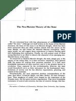 The Neo Marxist Theory